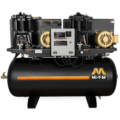 M Series - 120-Gallon Two Stage Electric Duplex