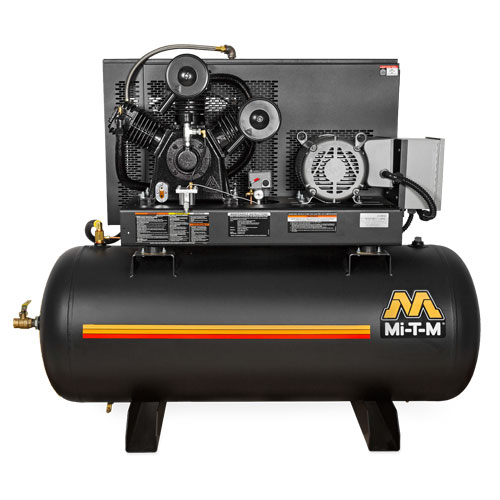 M Series - 80 & 120-Gallon Two Stage Electric Simplex